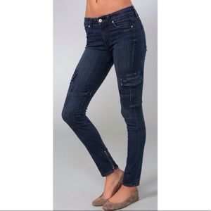 ce1c8c964039f0 Vince Jeans - VINCE Cargo Skinny Jeans Ankle Zipper